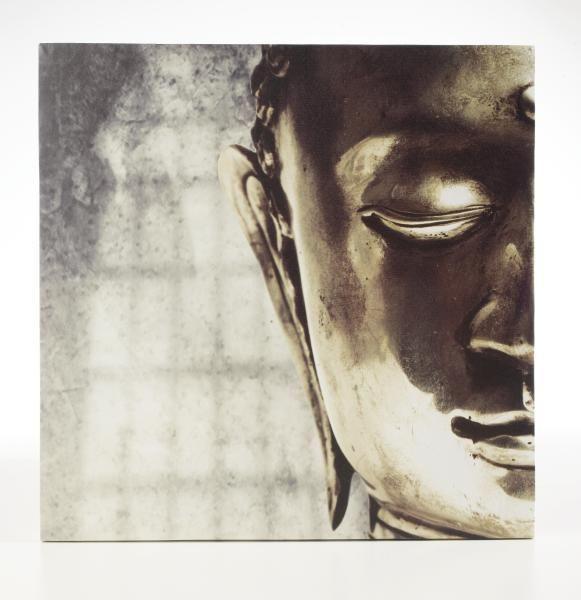 Feszített Vászon Kép Buddha - műanyag/fa (60/60cm) - MÖMAX modern living
