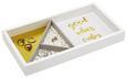 Schmuckbox Kai Weiß/Goldfarben - Goldfarben/Weiß, Holzwerkstoff (29,1  cm) - Mömax modern living
