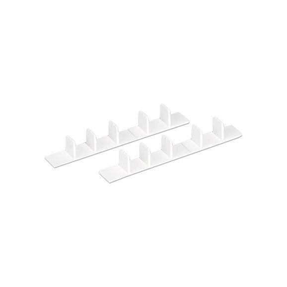 Stranski Pokrov Amelie - bela, umetna masa (8.3/2.2/1.7cm) - Mömax modern living