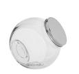 Gewürzglas Antonius aus Glas - Klar/Edelstahlfarben, Glas (18,5/13/19cm) - Mömax modern living