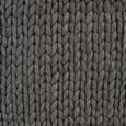 Decke Berita ca. 127x152 cm in Dunkelgrau - Dunkelgrau, Textil (127/152cm) - Mömax modern living