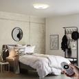LED-Deckenleuchte BETTY in Weiß, max. 30 Watt - Weiß, MODERN, Kunststoff/Metall (44/7cm) - Mömax modern living