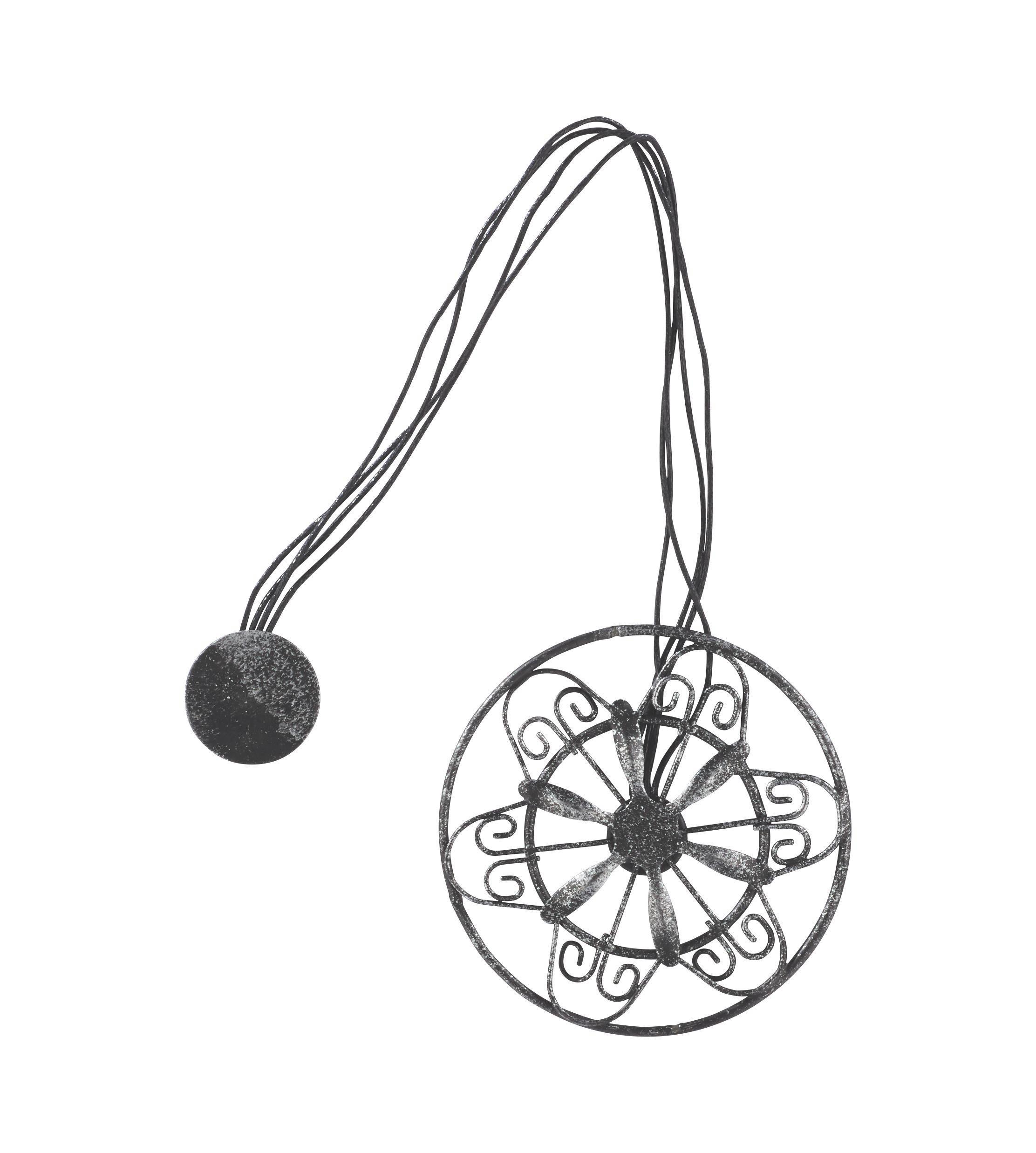 Függönydísz Antik - barna/fekete, fém (8/30cm) - MÖMAX modern living