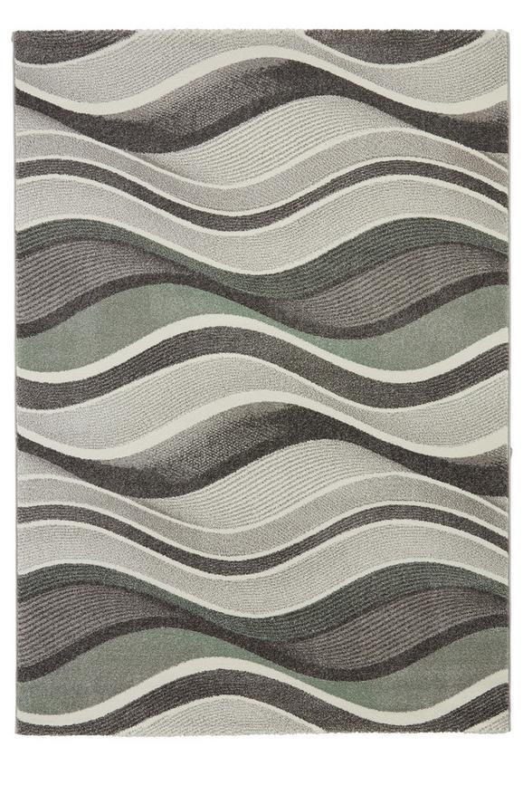 Webteppich Bill Grau 160x230cm - Grün, MODERN, Textil (160/230cm) - Mömax modern living