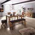 Bancă Industry - culoare natur, Lifestyle, lemn (140/40/45cm) - Zandiara