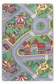 Spielteppich Ralley, ca. 80x120cm - Textil (80/120cm)