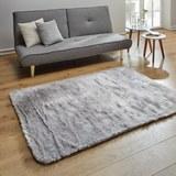 Fellteppich Romy 120x170 cm - Grau, MODERN, Textil (120/170cm) - Mömax modern living