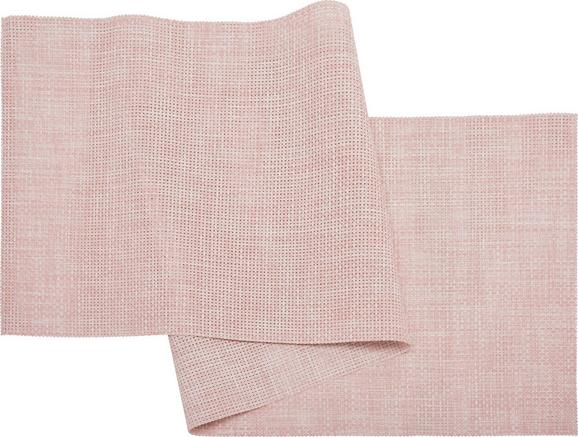 Nadprt Stefan - pastelno roza, umetna masa (45/150cm) - Mömax modern living