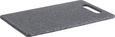 Schneidebrett Stone in Grau mit Griff - Grau, Kunststoff (24,8/15,1/0,8cm) - Mömax modern living
