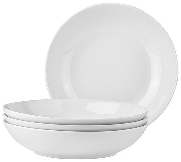 Suppenteller Billy in Weiß, 4 Stück - Weiß, MODERN, Keramik (20,5cm) - MÖMAX modern living