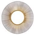 Spiegel Navina in Goldfarben - Goldfarben, MODERN, Glas/Holz (103/103/4cm) - Premium Living