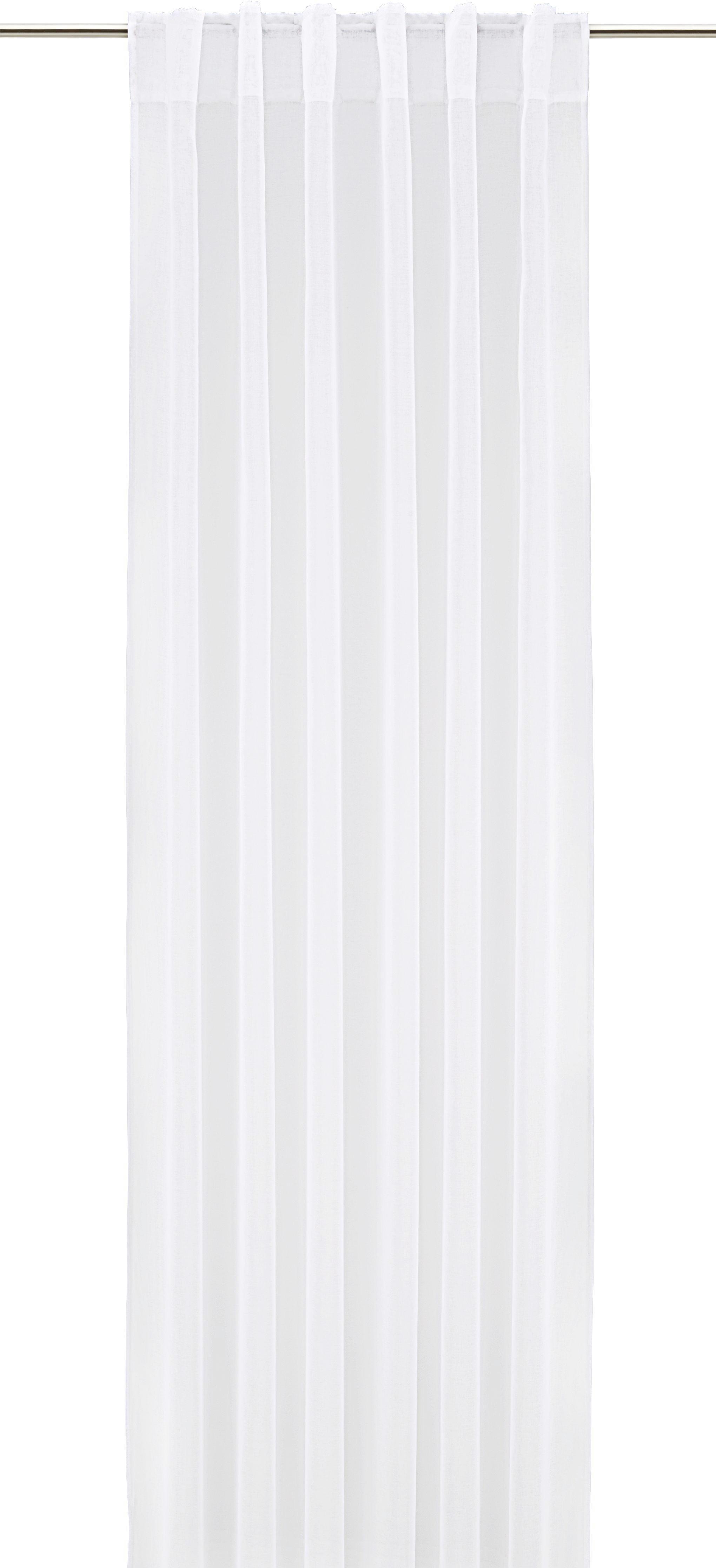 Fertigvorhang Tosca in Weiß, ca. 140x245cm - Weiß, Textil (140/245cm) - MÖMAX modern living