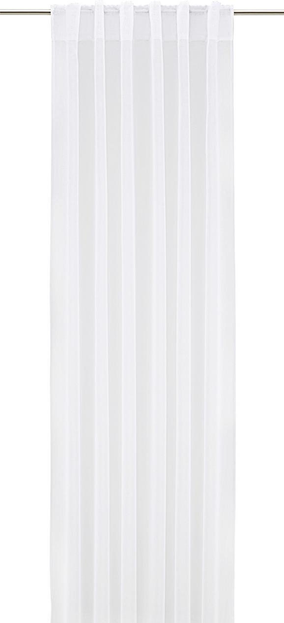 Končana Zavesa Tosca - 2-delni Set -eö- - bela, tekstil (140/245cm) - Mömax modern living