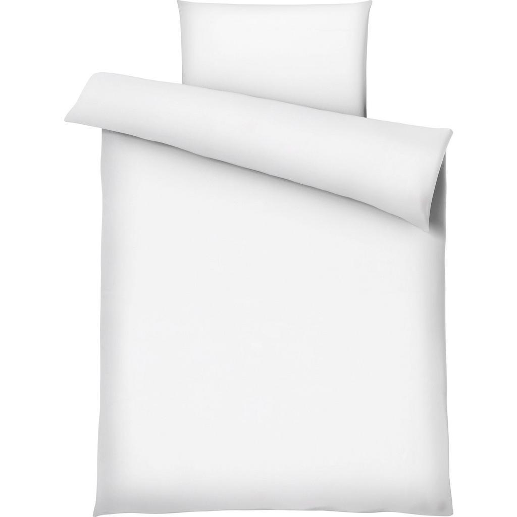 Bettwäsche MARION in Weiß ca. 135x200cm