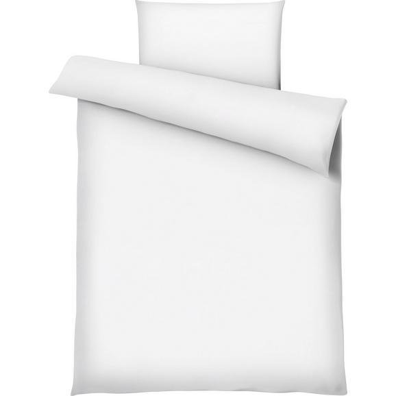 Bettwäsche Marion in Weiß ca. 135x200cm - Weiß, Textil (135/200cm) - Premium Living