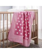 Babydecke Ibena in rosa - Pink/Rosa, MODERN, Textil (75x100cm) - Ibena-LÖSCHEN