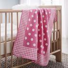 Babydecke Ibena in Rosa - Pink/Rosa, MODERN, Textil (75x100cm) - IBENA