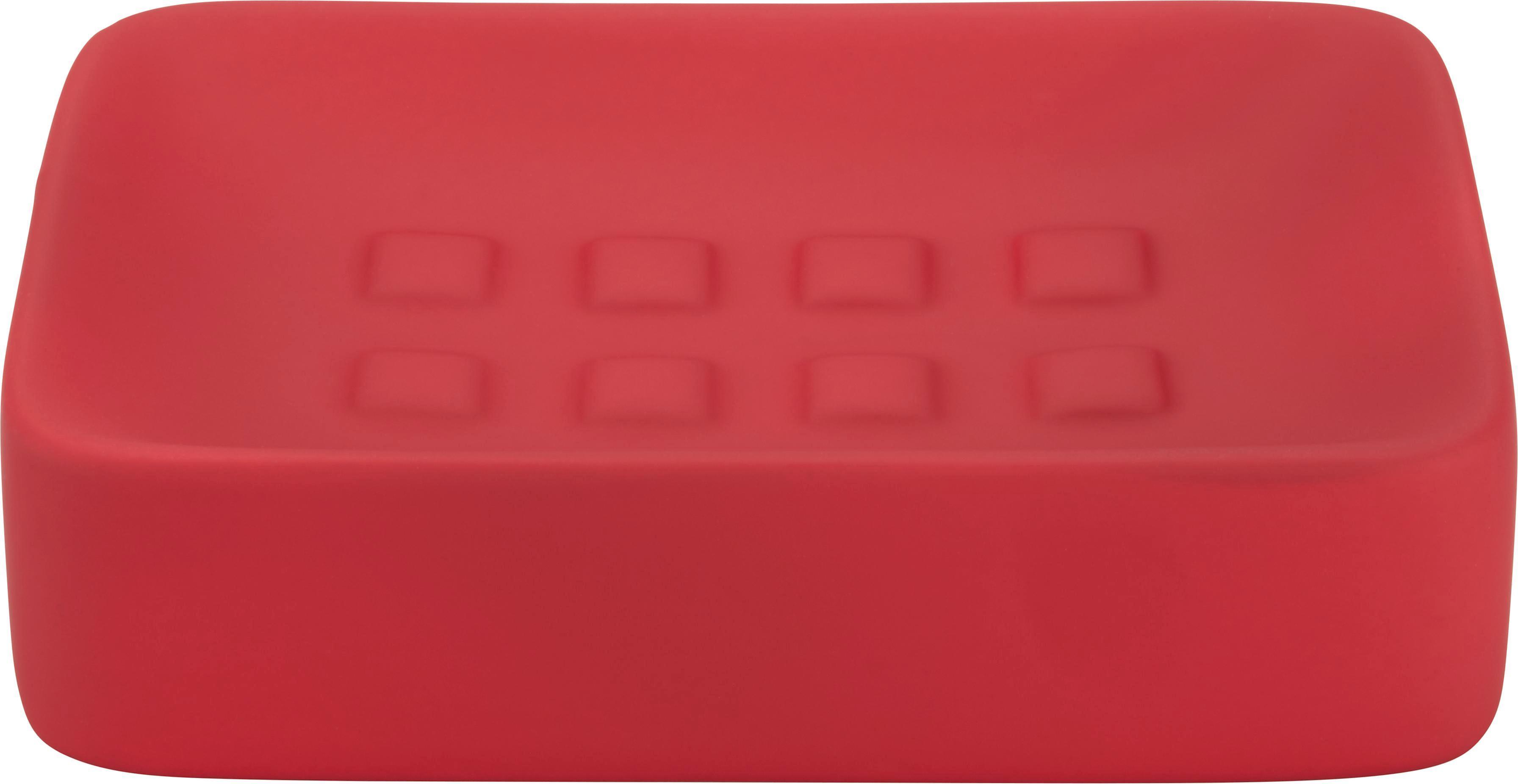 Seifenschale Melanie in Rot aus Keramik - Rot, Keramik (8,3/12,5cm) - MÖMAX modern living