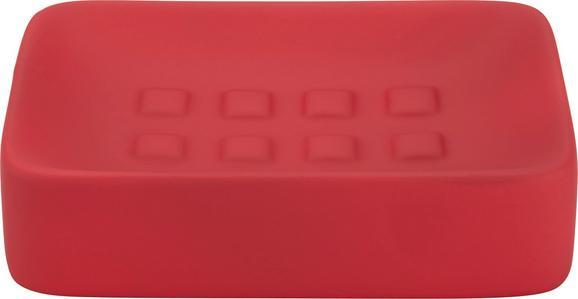 Szappantartó Melanie - piros, kerámia (8,3/12,5cm) - MÖMAX modern living