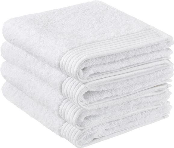 Handtuch Dolly ca.50x100cm - Weiß, KONVENTIONELL, Textil (50/100cm) - Mömax modern living