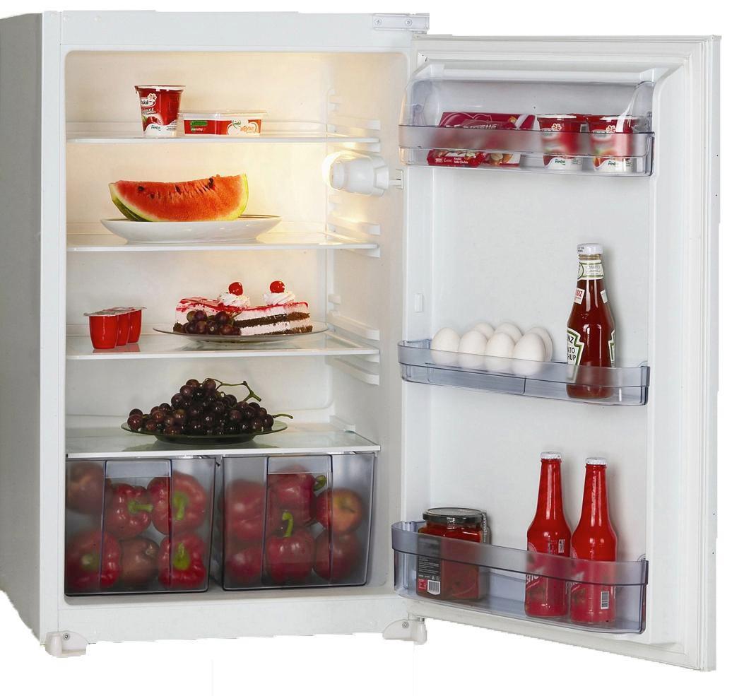 Kühlschrank Ks 88.0 A+ - Weiß, MODERN, Metall (54/87,5/54,5cm)