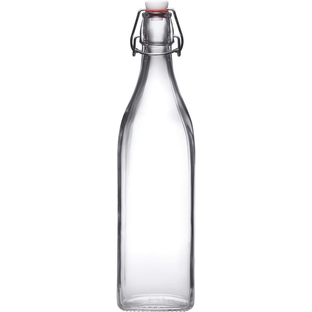 Universalflasche Swing aus Glas, ca. 0,25l