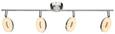 Led-reflektor Elli - krom, Konvencionalno, kovina/umetna masa (40/12,5cm) - Mömax modern living