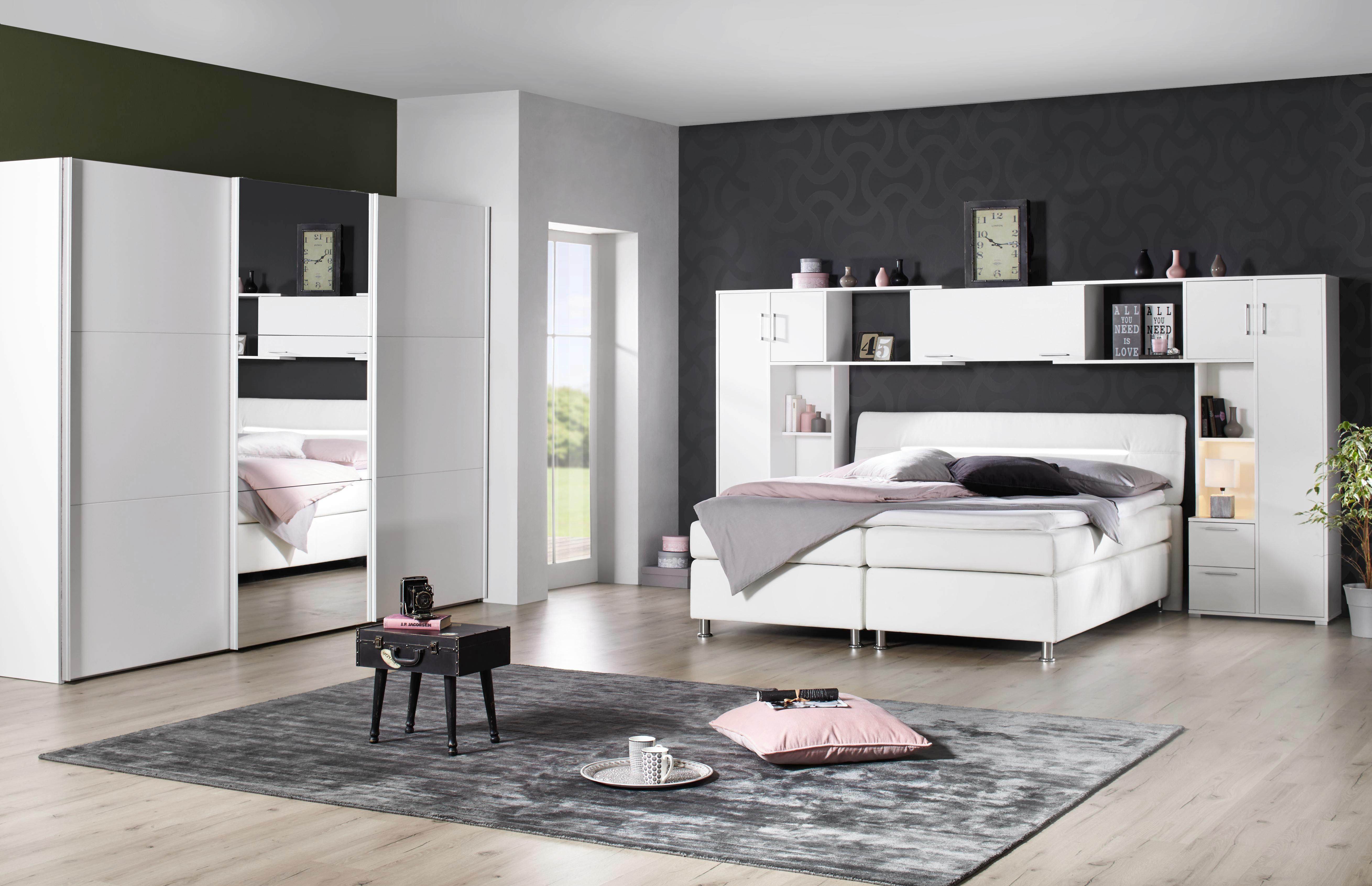 Beistelltisch in Schwarz lackiert - Blau/Schwarz, ROMANTIK / LANDHAUS, Holzwerkstoff/Metall (44/35/40cm) - MÖMAX modern living