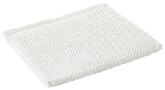 Gästetuch Juliane Weiß - Weiß, Textil (30/50cm) - PREMIUM LIVING