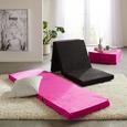 Összecsukható Matrac Anna - Pink, modern, Textil (65/186cm)