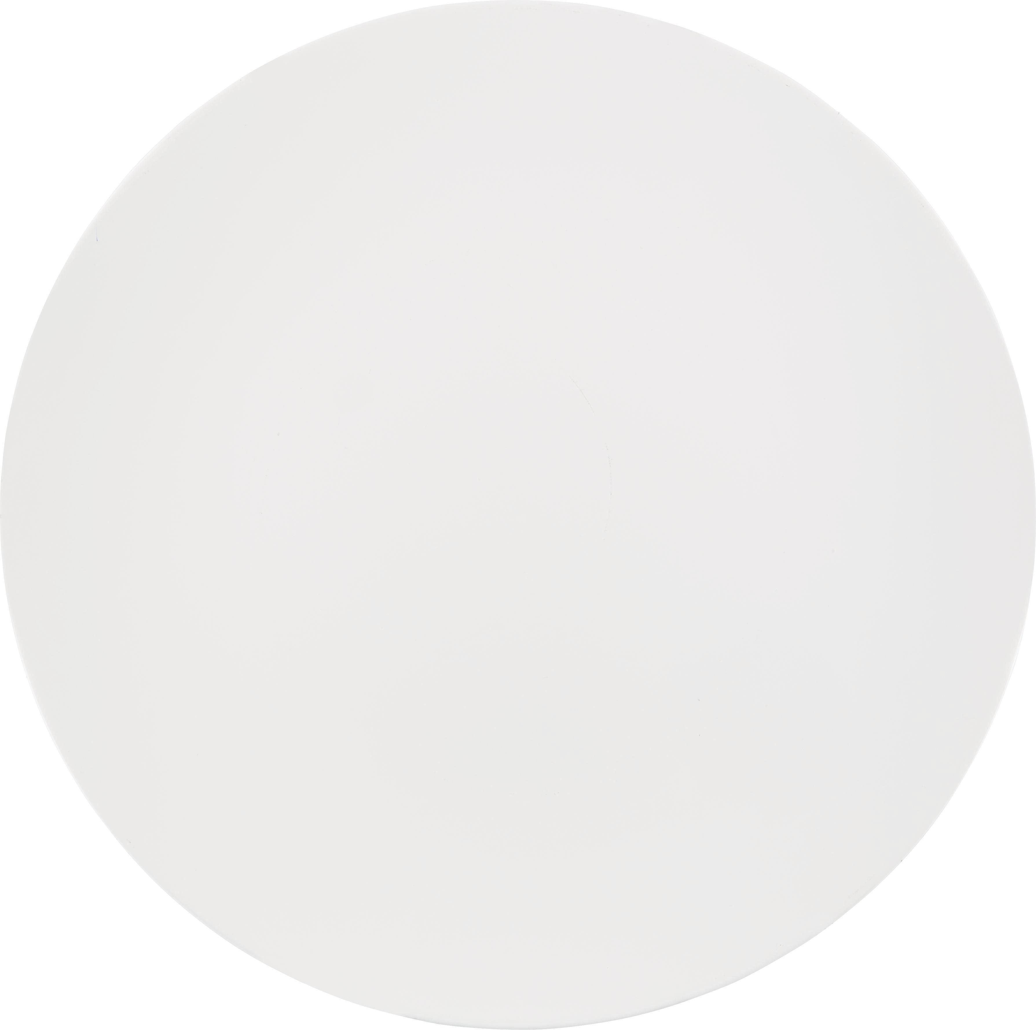 Dekoteller Chloe in Creme - Creme, KONVENTIONELL, Kunststoff (33cm)