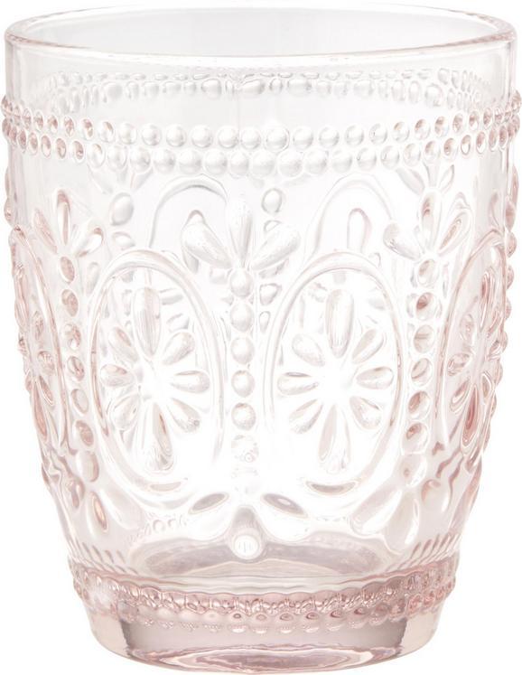 Wasserglas St. Remy ca. 300ml - Rosa, ROMANTIK / LANDHAUS, Glas (8,1/9,8cm) - Mömax modern living