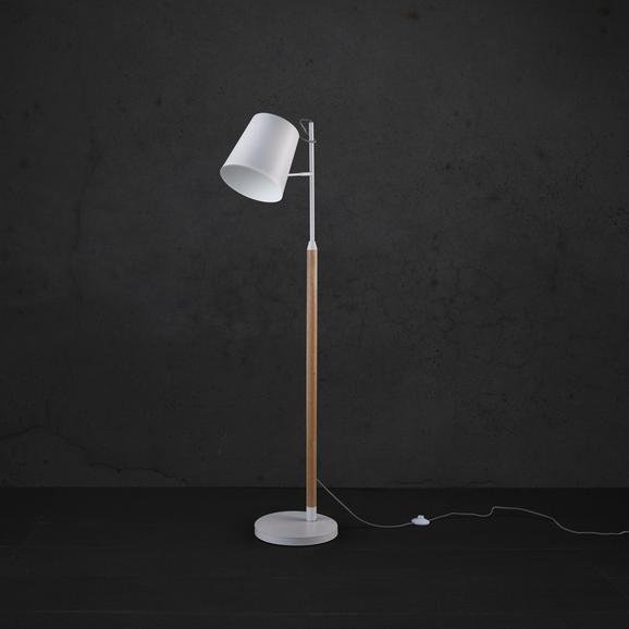Stehleuchte Jannis - Weiß, MODERN, Kunststoff/Metall (30/154cm) - MÖMAX modern living