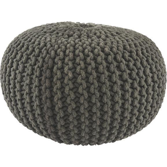 Sitzkissen Aline - Anthrazit, Textil (50/30cm) - Premium Living