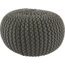 ÜLŐPÁRNA ALINE - Antracit, Textil (55/35cm) - Premium Living