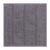 Badematte Uwe Grau 50x50cm - Grau, Textil (50/50cm) - Mömax modern living