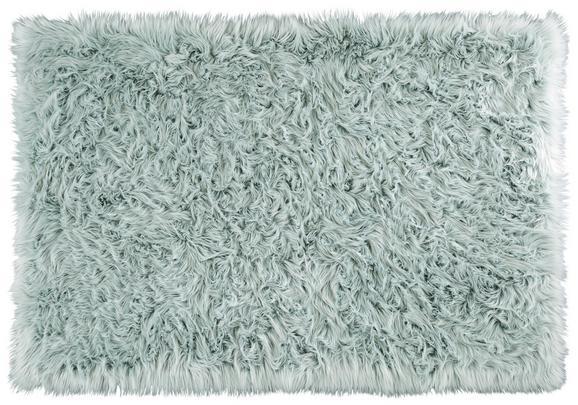 Ovčja Koža Teddy - svetlo zelena, tekstil (100/150cm) - Mömax modern living