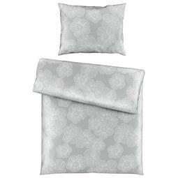 Bettwäsche Elli Grau 140x200cm - Hellgrau, KONVENTIONELL, Textil (140/200cm) - Mömax modern living