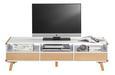 TV-möbel Daniel - Buchefarben/Weiß, Holz (160/45/39,5cm) - Premium Living