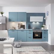 Küchenblock Touch Aqua   (260cm)