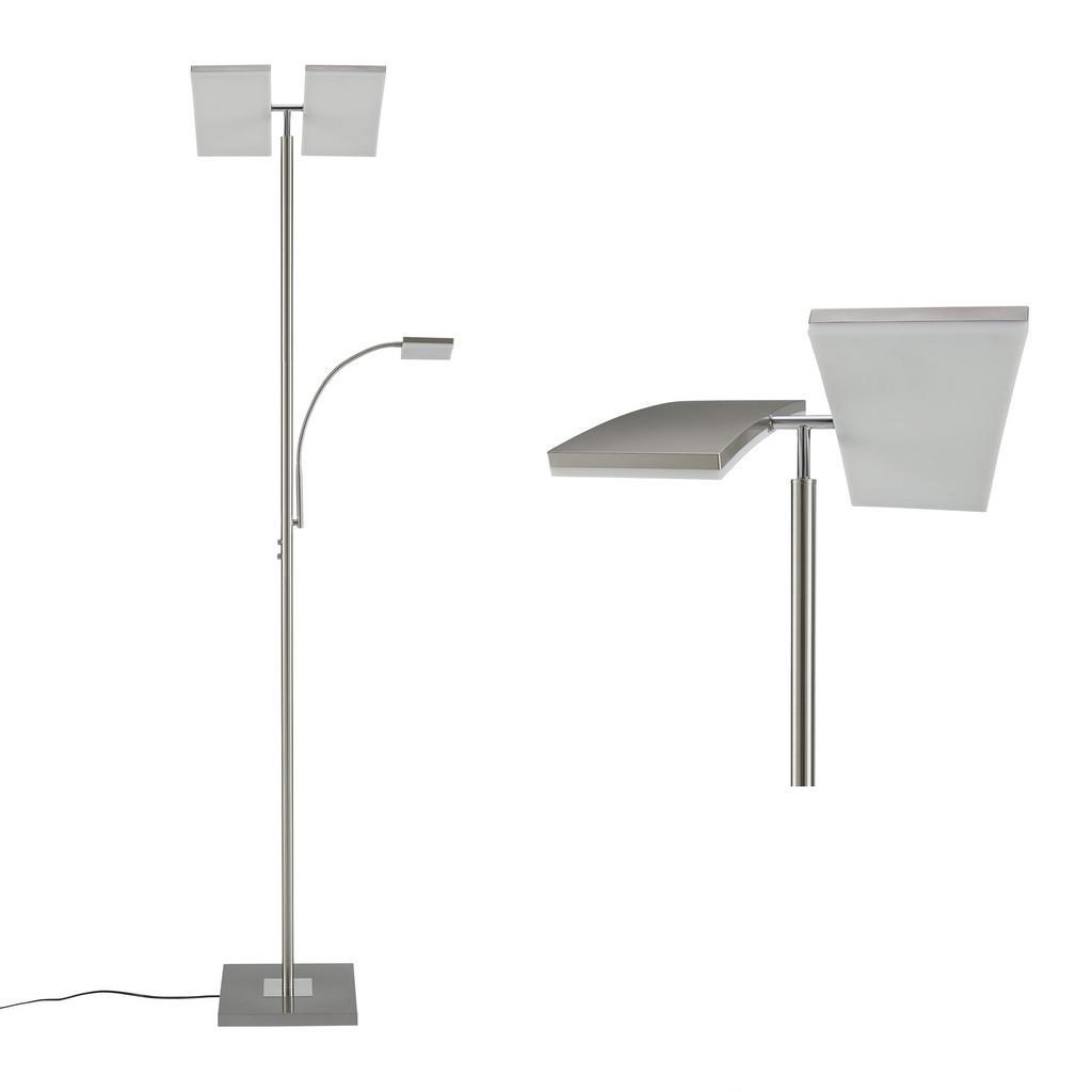 LED-Stehleuchte Ruben max. 2x11 - 1x4 Watt