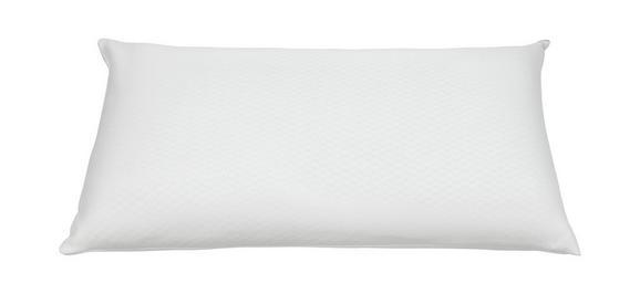 Nackenkissen Cannes in Weiß, ca. 40x80cm - Weiß, Textil (40/80cm) - MÖMAX modern living