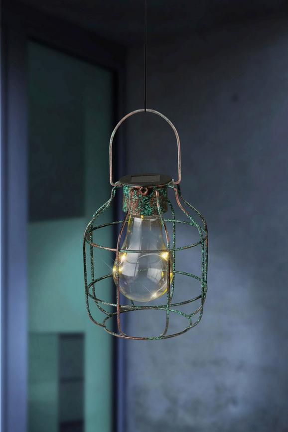 Solarna Svetilka Talea - bron/prozorna, Trendi, kovina/umetna masa (13/16cm) - Mömax modern living