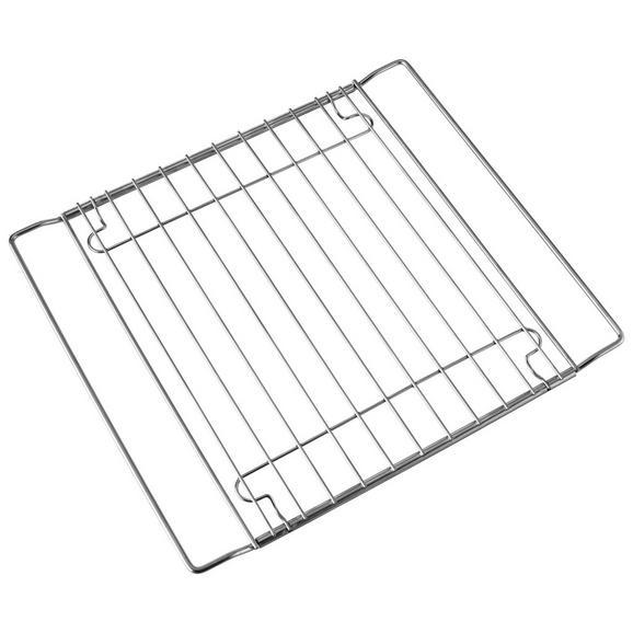 Backofenrost Rosty in Silberfarben - Silberfarben, KONVENTIONELL, Metall (33/37,7-52/2cm)