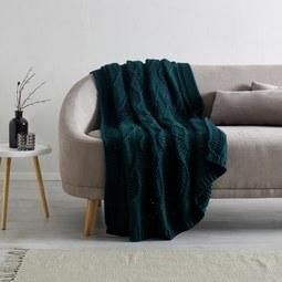 Kuscheldecke Saskia ca. 130x180 cm - Grün, Textil (130/180cm) - Mömax modern living
