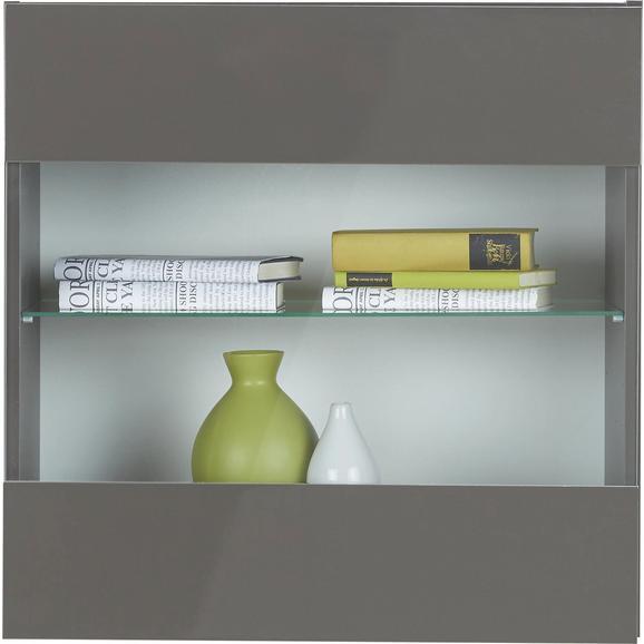 Viseča Vitrina Match Antracitna - antracit, Moderno, steklo/leseni material (60/60/34cm) - Mömax modern living