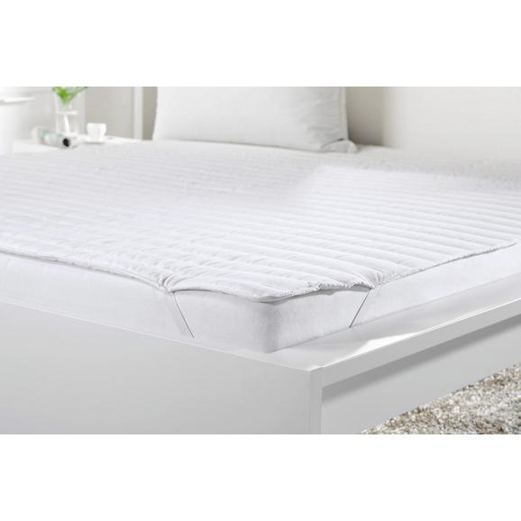 Unterbett in Weiß ca. 180x200cm - Weiß, Textil (180/200cm) - Mömax modern living