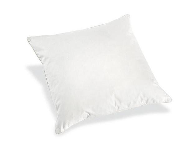 Füllkissen Tim in Weiß, ca. 50x50cm - Weiß, Textil (50/50cm)