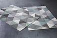 Webteppich Rom Blau/Grau 120x170cm - Blau/Grau, Textil (120/170cm) - Mömax modern living