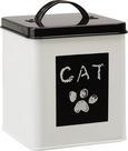 Škatla S Pokrovom Cat - bela, Romantika, kovina (14/14/16cm) - Mömax modern living